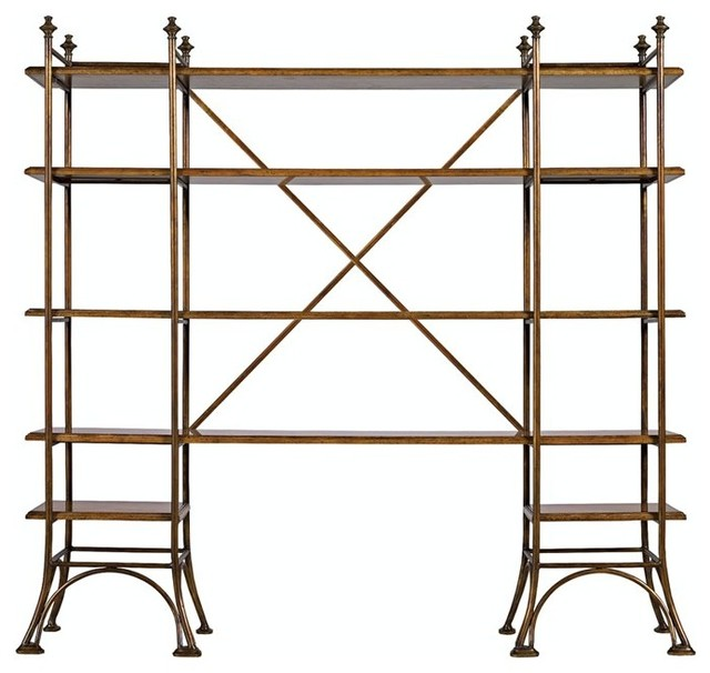 Stanley Furniture Arrondissement Eiffel Etagere in Sunlight Anigre ...