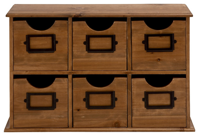 Smart Styled attractive Wood Table File Cabinet - Traditional - Desk Accessories - by Wildorchid