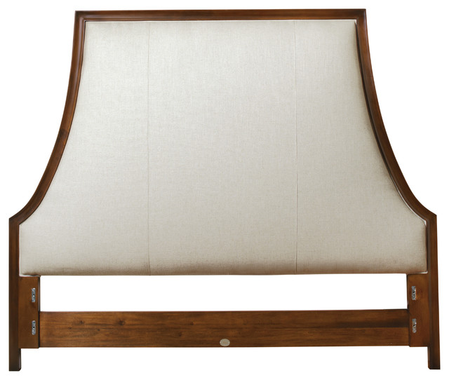 Lyric Tufted King Bed - Headboard Only contemporary-beds