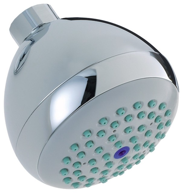 Hansgrohe-06498000 Croma E 75 Green 1-Jet Showerhead in Chrome traditional-showers