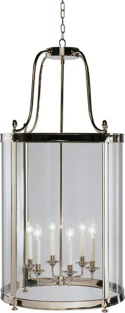 Blake Pendant, Polished Nickel contemporary-pendant-lighting