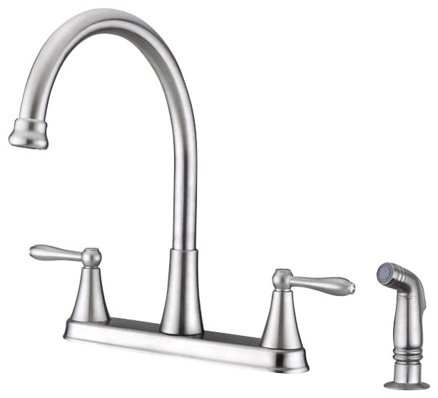 Ultra Faucets UF21143 Transitional Kitchen Faucet traditional-kitchen-faucets