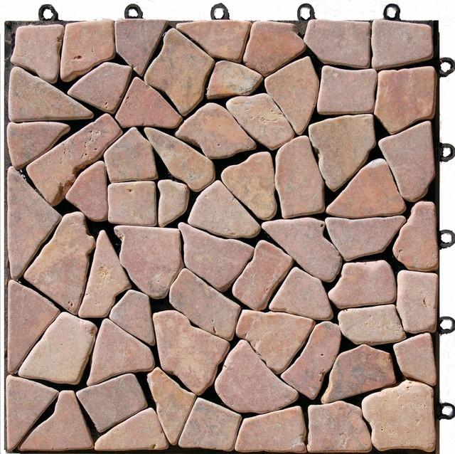 interlocking mosaic deck tiles ezytile 12 x 12 6