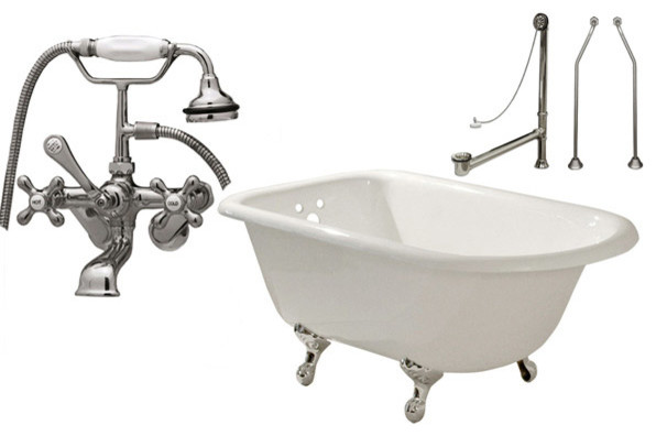 Randolph Morris Claw Foot Tub Traditional Bathtubs