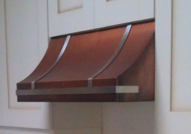 Copper range hood - under cabinet - Range Hoods And Vents ...