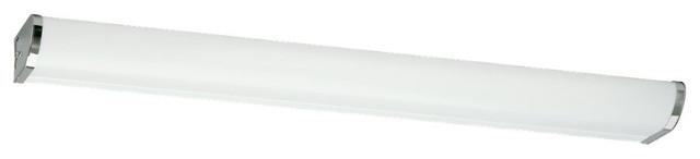 Sea Gull Lighting 49015LE-05 Chrome 2 Light Vanity transitional-bathroom-lighting-and-vanity-lighting