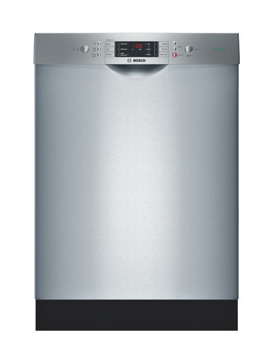 """Bosch 24"""" Recessed Handle Special Application Dishwasher, Stainless 