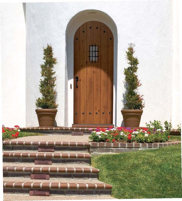 Solid Plank Door traditional front doors
