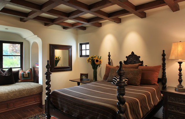 Spanish colonial for Spanish style bedroom