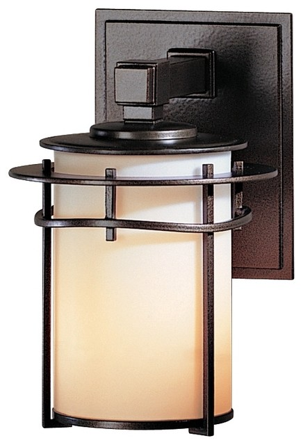 "Arts and Crafts - Mission Hubbardton Forge Exos Pasadena 9 1/2"" High Outdoo modern-outdoor-lighting"