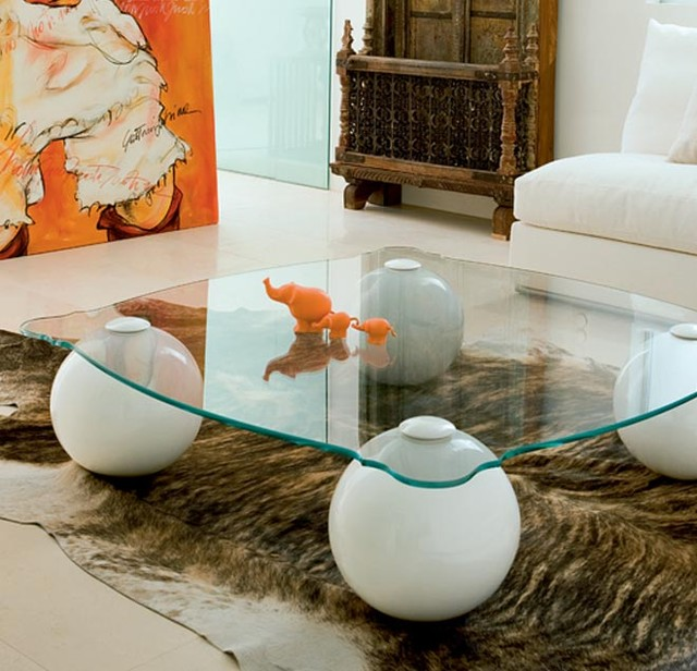 Benny Coffee Table eclectic-coffee-tables