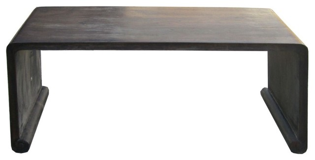 Chinese Rosewood Simple Plain Low Altar Kang Table - Asian - Coffee Tables - by Golden Lotus ...