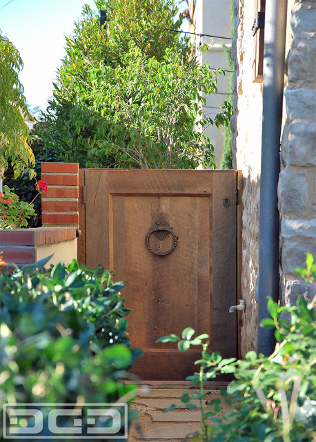 855 343 3667 tuscan style gates in orange county ca for Rustic garden gate designs