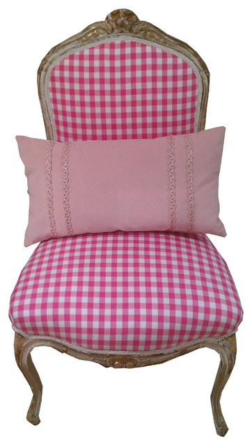 sezen ulubay pink chair eclectic chairs