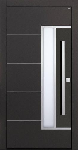 Durabella custom design doors modern front doors for Flat entry door design