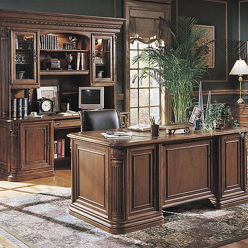 Hutch for Computer Credenza traditional-side-tables-and-end-tables