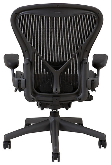 Modern Herman Miller Aeron Mesh Classic Aeron 174 Chair