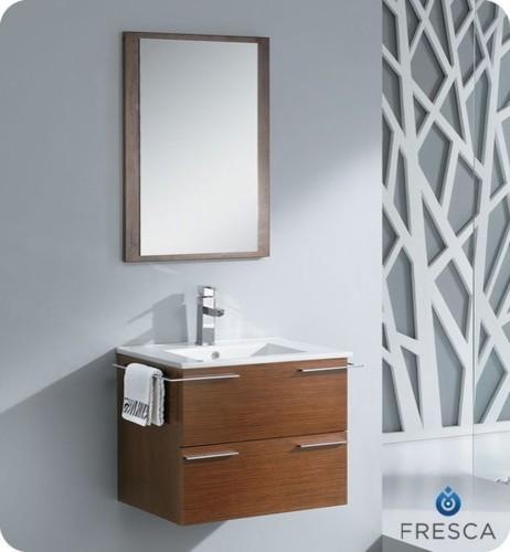 """Cielo 24"""" Modern Bathroom Vanity with Mirror modern-bath-products"""