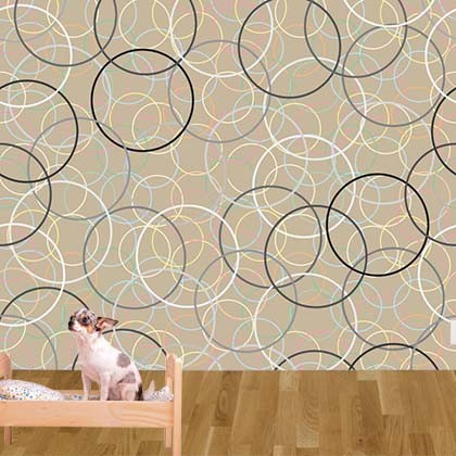 New custom printed wallpaper designs from customized walls for Wallpaper design for office wall