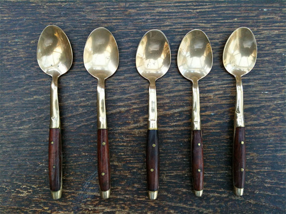 traditional flatware by Etsy