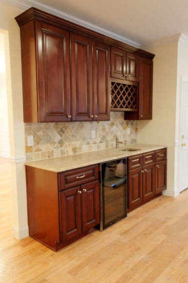 Brown Kitchen Cabinets Pacifica Door Style Kitchen Cabinet Kings