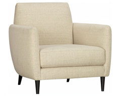 Parlour Oatmeal Chair modern-accent-chairs