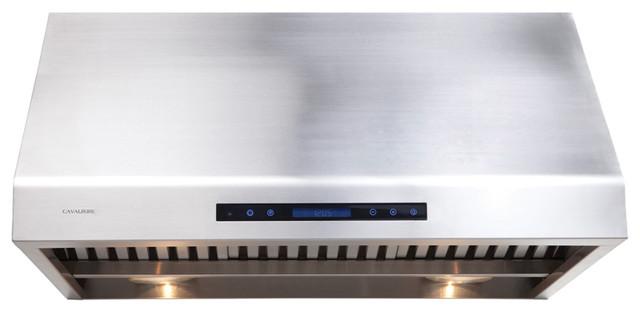 "Range Hood 30"" - Cavaliere, Under Cabinet modern-gas-ranges-and-electric-ranges"