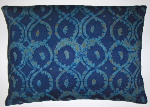 Throw Pillows Jysk : Cotton batik pillow cover using fabric from Ghana West Africa decorative-pillows