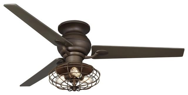 60 casa spyder nostalgic industrial bronze ceiling fan. Black Bedroom Furniture Sets. Home Design Ideas