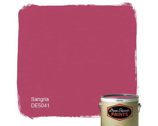 Dunn-Edwards Paints Sangria DE5041 -