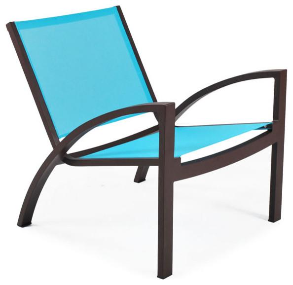 John Kelly Furniture - Rho Lounge Chair modern-outdoor-lounge-chairs