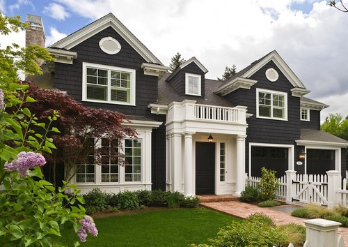 Http Housekaboodle Com Black Houses Home Exterior Paint Ideas