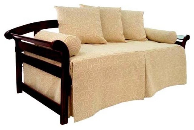 Sis covers insight daybed cover modern indoor chaise for Chaise covers indoors