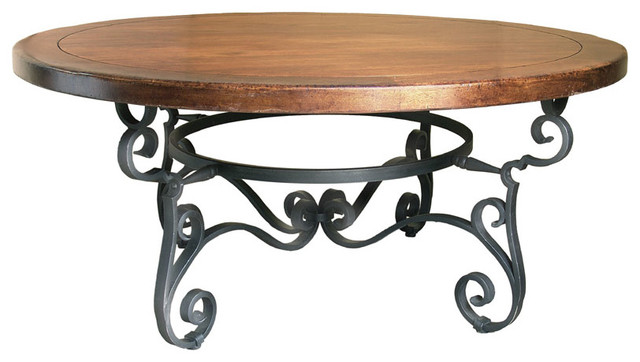 Galisteo Round Dining Table traditional-dining-tables
