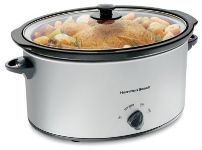 Hamilton Beach 33176 7 qt. Oval Slow Cooker modern-gas-ranges-and-electric-ranges