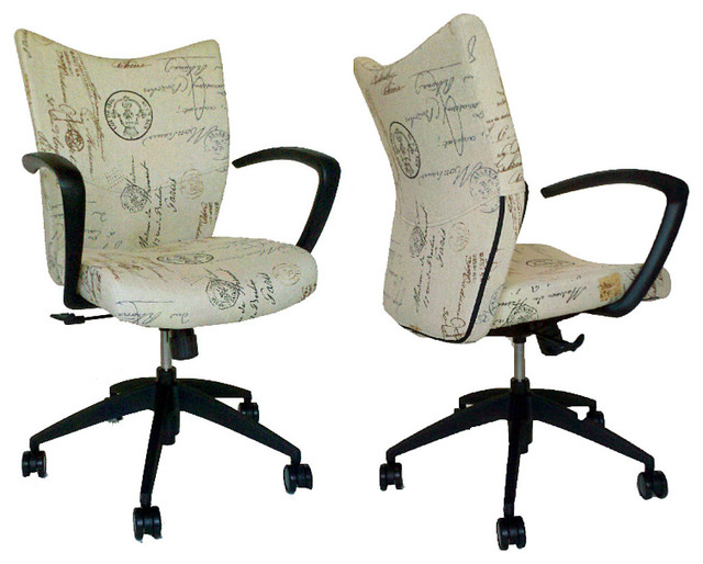 French Script Desk Chair office-chairs