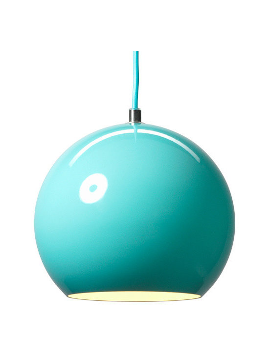 Panton Topan VP6 Pendant - Light Blue