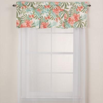 J Queen New York Pompano Tropical Window Valance