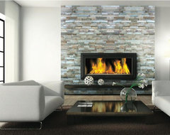Fireplace Ledgestone/Stacked Stone Slate traditional floor tiles