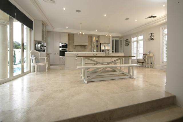 Kitchen floor ideas mediterranean wall and floor tile for Mediterranean flooring ideas