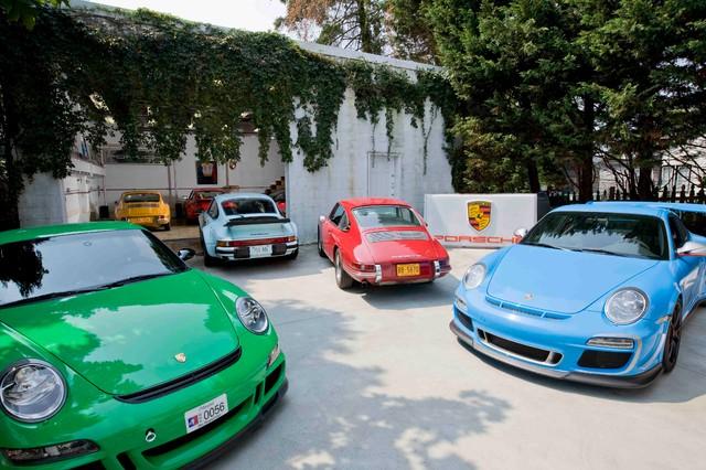 Porsche Collection Featured In Annapolis Home Magazine