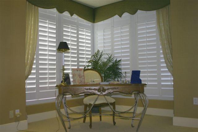 Home Office Window Shutters Modern Window Treatments