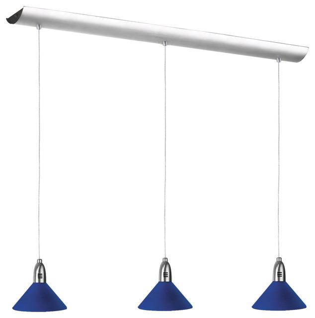 3 Light Rec Pendant