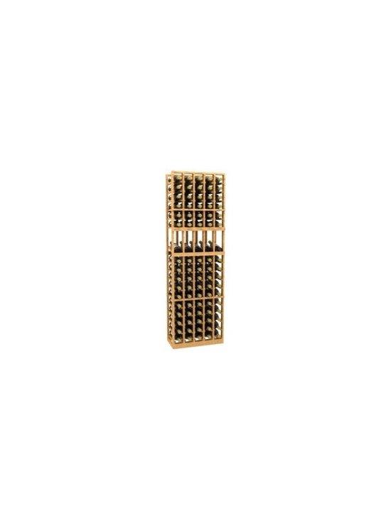 5 Column Display Wood Wine Rack - The 5 Column Display Wood Wine Rack is part of our 6' Series.