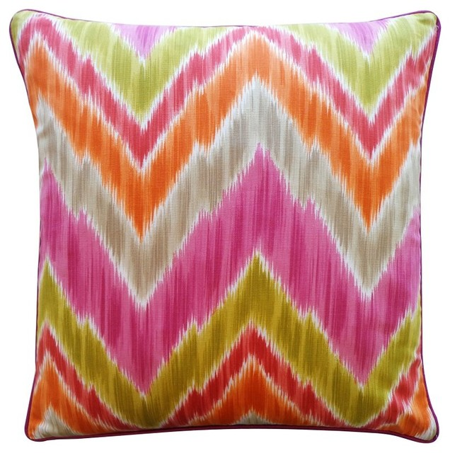 Jiti Mountain Pillow - 1220/MOU-AQU contemporary-decorative-pillows