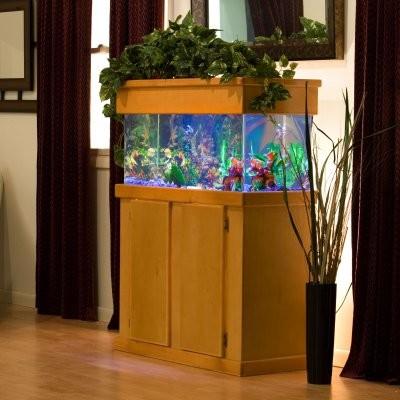 Es rectangular aquarium stand modern fish supplies for Modern fish tank stand