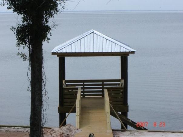 Point Clear Residence beach-style-patio