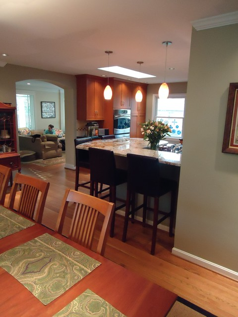 New Kitchen and Opened Living Space. eclectic-kitchen