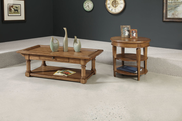 American Drew 114-912 Americana Home Rectangular Cocktail Table-Kd traditional-coffee-tables