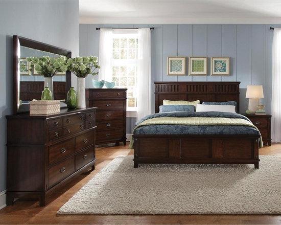 "Standard Furniture ""Sonoma"" Collection 6-piece Queen Bedroom Set -"